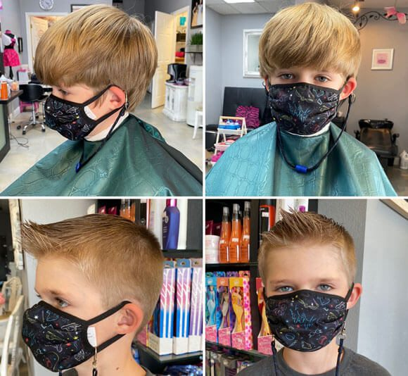 Getting haircuts for your kids